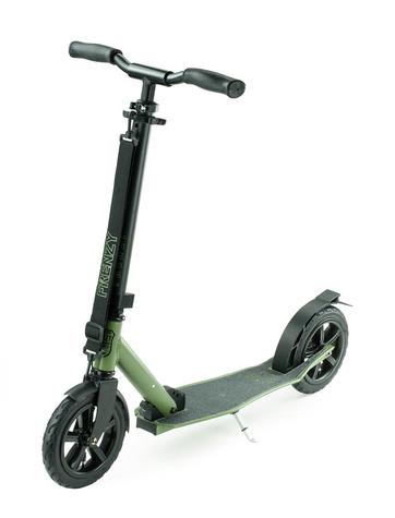 Frenzy 205mm Pneumatic Military Green Recreational Scooter