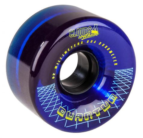 Clouds Urethane Wheels Quantum Outdoor 80a (PK 4) BLUE