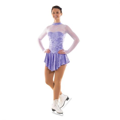 Skating Dress With Turtle Neck LILAC