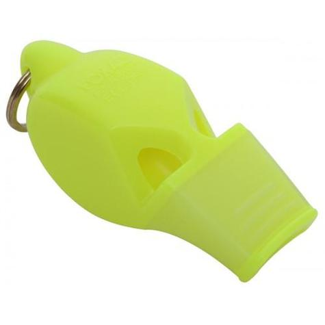 Fox 40 eclipse classic cmg Whistle with lanyard NEON YELLOW