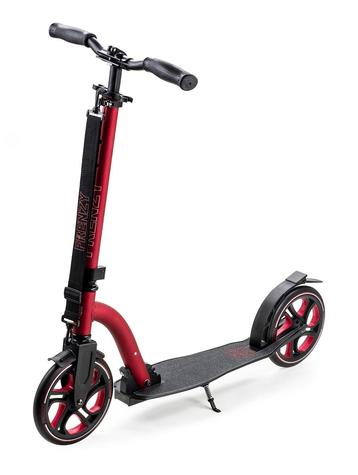 FRENZY 215MM RECREATIONAL SCOOTER red/black