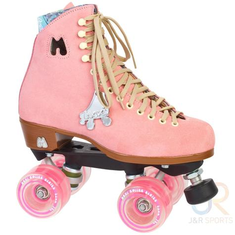 Riedell Moxi Strawberry roller Skates
