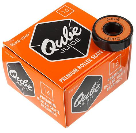 Qube Bearings Juice (Pack of 16) 7mm & 8mm