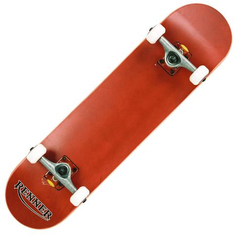 RENNER PRO - 7 PLY, VIRUS TRUCKS, ABEC 9 - RED