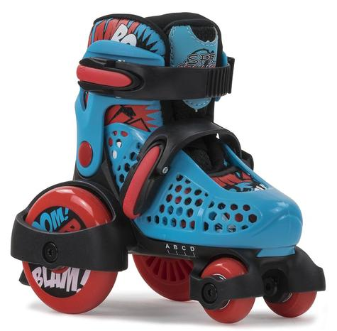 SFR STOMPER ADJUSTABLE QUAD SKATES BLUE