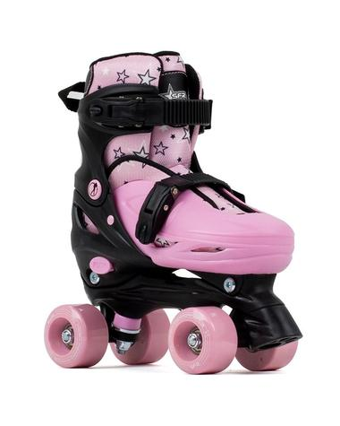 SFR Nebula Adjustable Quad Skates - Pink - Kids