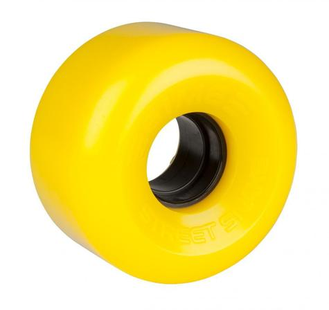 Sims Quad Wheels Street Snakes YELLOW PACK OF 4
