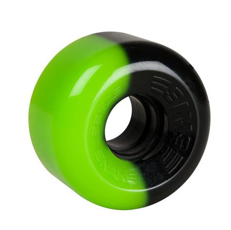 Sims Quad Wheels Street Snakes GREEN - BLACK PACK OF 4