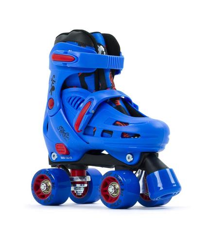 SFR Storm Iv Adjustable Quad Skates Blue / Red