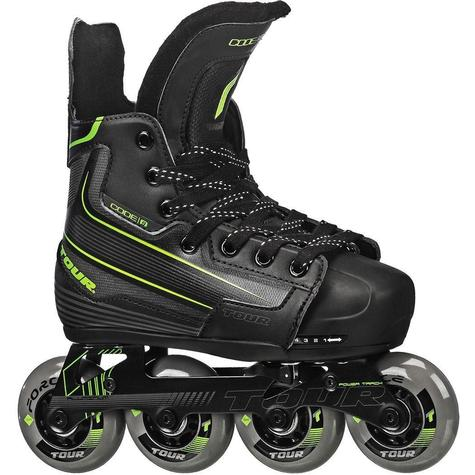 Tour Code 9 Adjustable KIDS Inline Hockey Skates