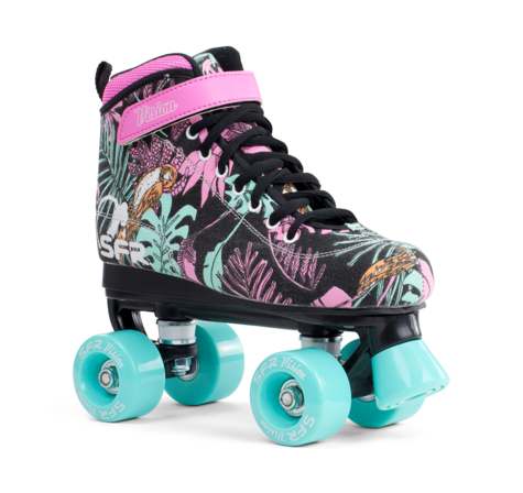 SFR Vision Canvas Quad Skates floal