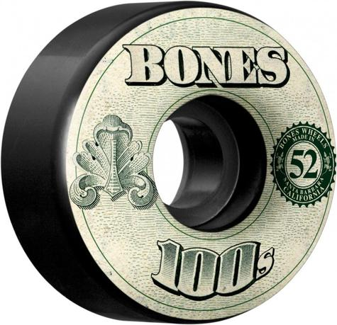 Bones Wheels OG 100's #11 V4 52MM