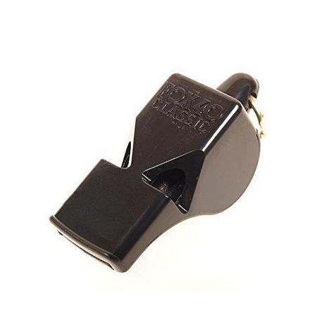 fox 40 classic whistle with lanyard black