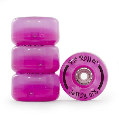 Pink Light up wheels set of 4