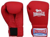 Lonsdale Pro-Training Red Glove