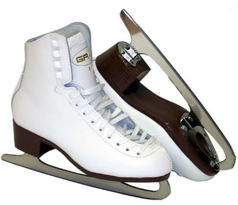 Graf 500 White Figure Junior Skate
