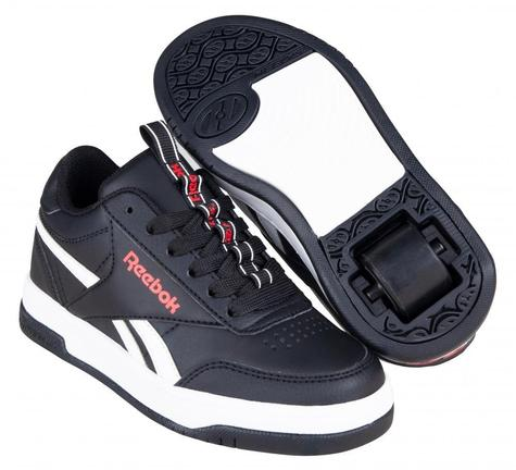 Heelys X Reebok Court Low Core Black/White/Vector Red