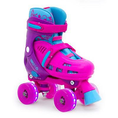 SFR Hurricane Lighting Kids Adjustable Skates
