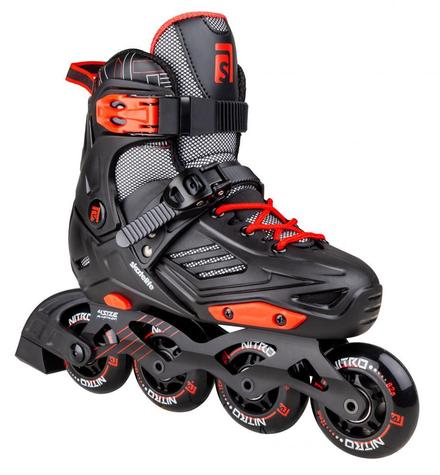 Skatelife Inline Skates Nitro Freestyle Adjustable
