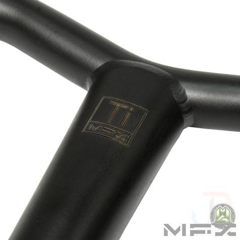 Mfx Bamf Titanium T Bars 27 X 26 Matt Black Skate Attack