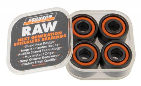 Bronson Speed Co. Bearings Raw (Pack of 8)