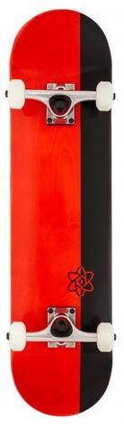 Rocket Complete Skateboard Invert Series Red