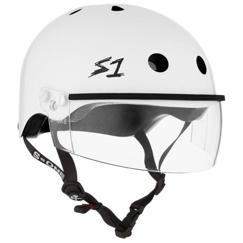 S1 Lifer Helmets Inc Visor - White Gloss