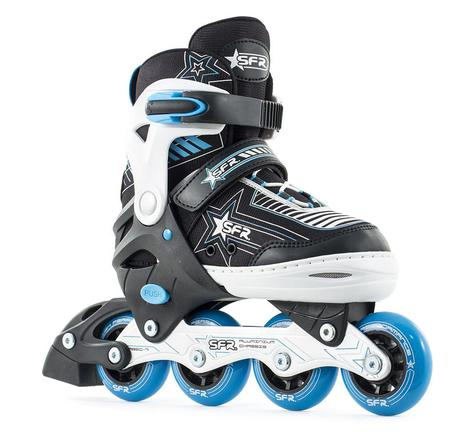 SFR Blue Pulsar Inline Adjustable Childs Skates