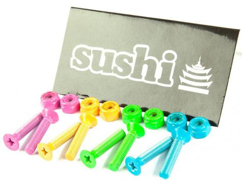 Sushi Bolts Coloured Phillips Bolts (Pk 8)