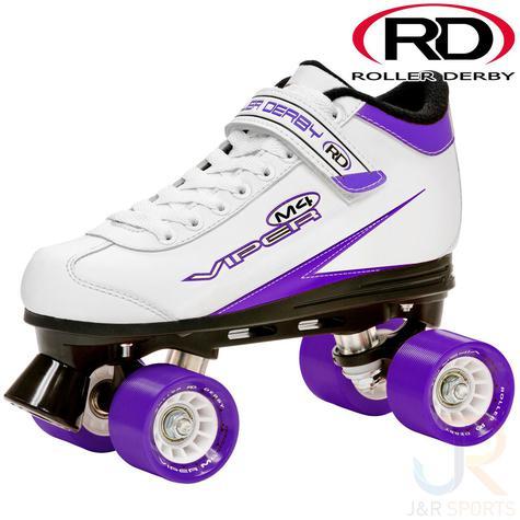 Roller Derby Viper M4 Quad Roller Skate White - Skate Attack