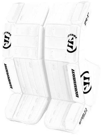 aa88b09ceff warrior ritual g3 goalie jr hockey leg pads white white - Skate Attack